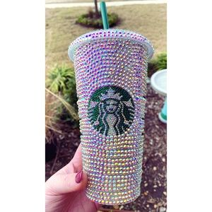 New Rhinestone Bling Starbucks Cup 💎